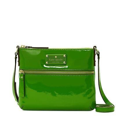 Kate Spade New York Flicker Tenely Green Handbag | eBay