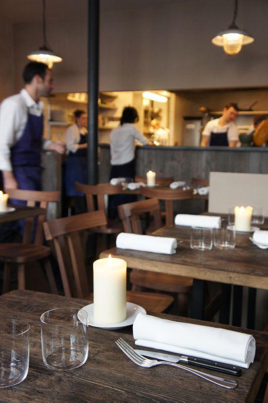 Septime Bistro Restaurant Paris interior