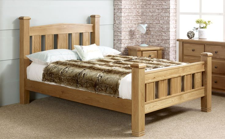 Woodstock Oak Bed -369