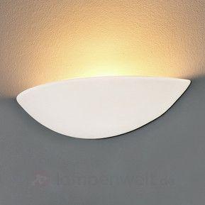 LED Gips-Wandleuchte PALE, bemalbar sicher & bequem online bestellen bei Lampenwelt.de.