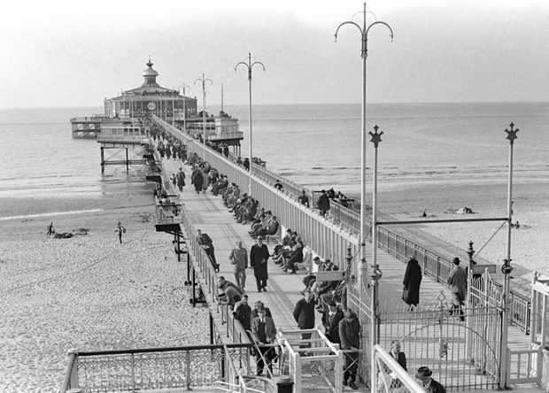 The Pier of Schevingen in the old days, The Netherlands. Visit http://shop.holland.com/en/books-guide-atlas/ for books about #dutchdesign, culture, architecture, art and nature