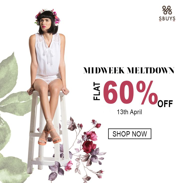 Hold onto Midweek meltdown at Spring' 16 Collection @  www.sbuys.in   #sbuys #womenswear #stylediva #latesttrends #fashionistas #newcollection #elegant #urbanstylewear #springseason #huesandtints #sale #discounts