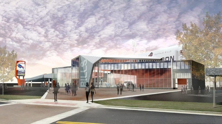 What do you think of this rendering of a piece of the Ralph Wilson Stadium renovation? Click to view more.