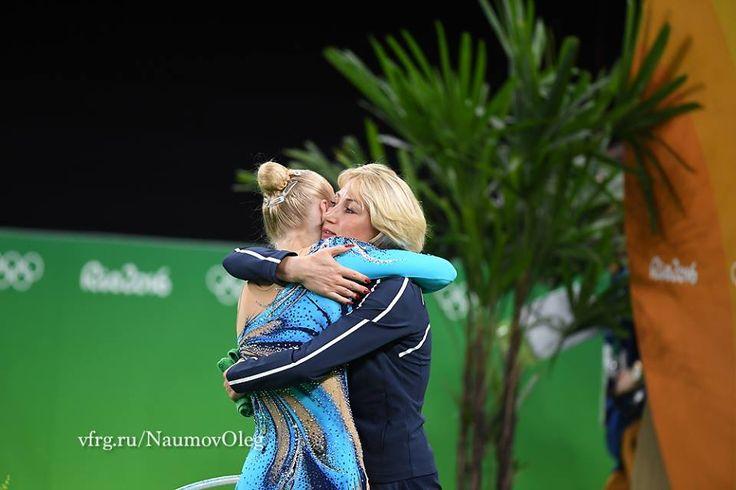 Kseniya Moustafaeva (France), backstage Olympic Games 2016