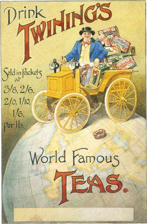 vintage twinings tea ad