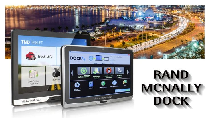 How to Download Rand McNally Dock and use it for Rand McNally Update?