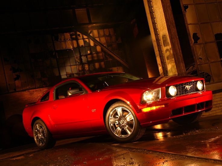 #Ford #Mustang Gt 2005 - great look 'n muscle car.