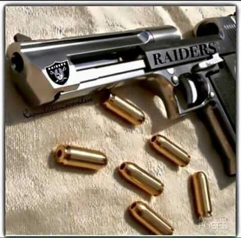 Raiders Gun