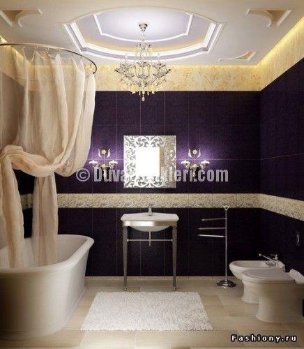 En Yeni Moda banyo dekorasyonu Dizaynları