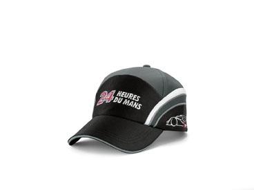 Le Mans Team baseball cap black/light grey.    Available from: http://www.m25audi.co.uk