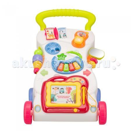Happy Baby Каталка Junior  — 2300р. ----------------------------  Каталка-ходунки c развивающим центром JUNIOR hb – многофункциональная развивающая игрушка, представляющая собой одновременно ходунки и интеллектуальную систему обучения и развития малыша.  Удобная ручка и надежная конструкция помогут ребенку сделать свои первые шаги, а многофункциональный развивающий центр на передней панели надолго увлекут ребенка. Отсутствие острых углов сведет к минимуму риск ушибов при падении.   Занятия с…