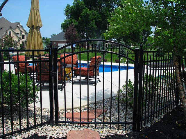 17 Best Ideas About Aluminum Fence On Pinterest
