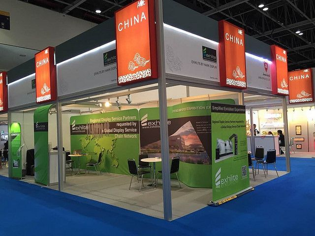 Cool Exhibition Designs From Hawk Display In SGI Dubai 2015