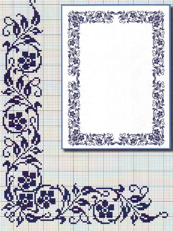 XX stitch border