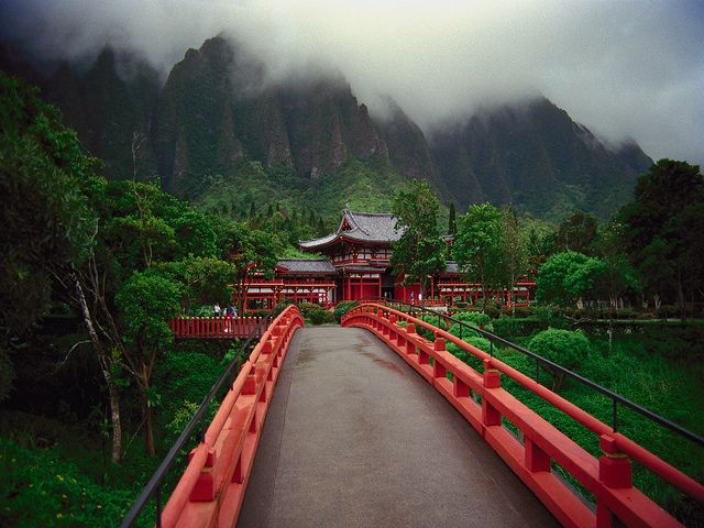 Byodo in Temple, Oahu, Hawaii. This is a must see. So peaceful and tranquil. We spent hours there just taking it all in!!!