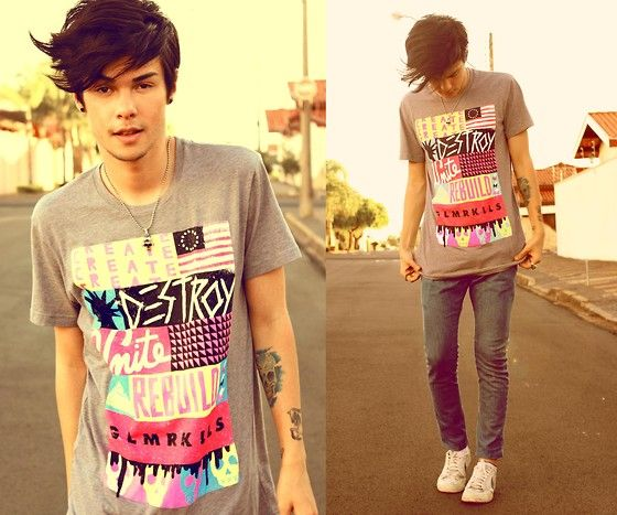 Wasted Hours (by Vini Uehara) http://lookbook.nu/look/3344975-Wasted-Hours