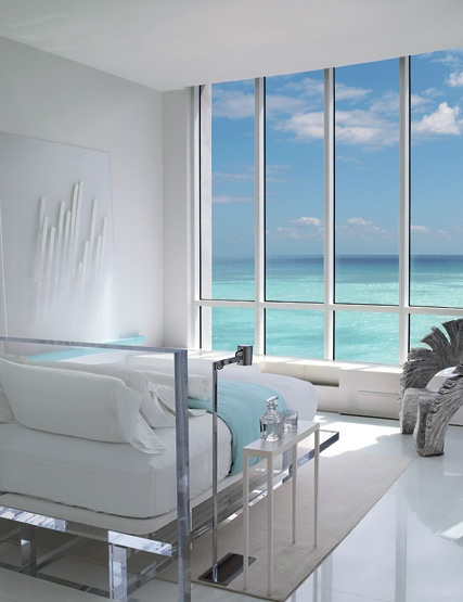 if i woke up to this everyday i'd be the happiest girl ever <3Beach House, Beds, Dreams, Bedrooms Design, Interiors Architecture, The View, Ocean View, Oceanview, Modern Bedrooms