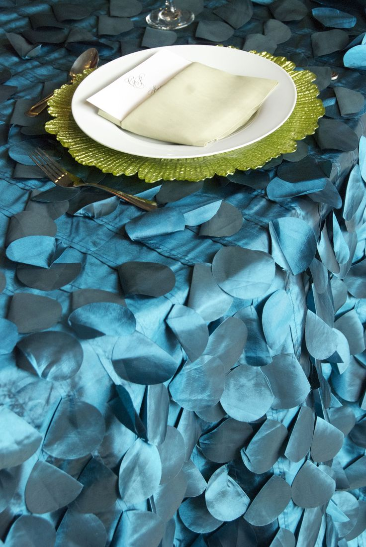 Ibiza Turquoise Premium Table Linen Blue Linens Pinterest