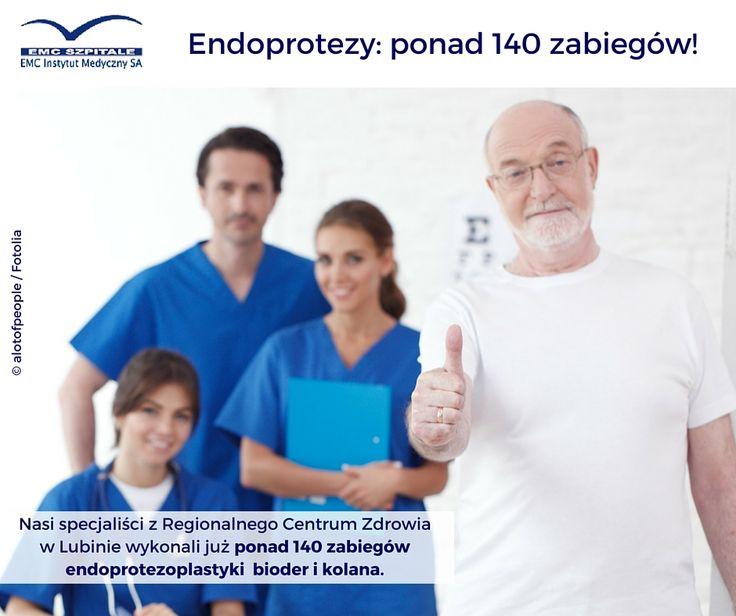 Wow! Gratulujemy wyniku naszym specjalistom z Regionalnego Centrum Zdrowia w Lubinie! Wykonali już ponad 140 zabiegów endoprotezoplastyki! Imponujący wynik!