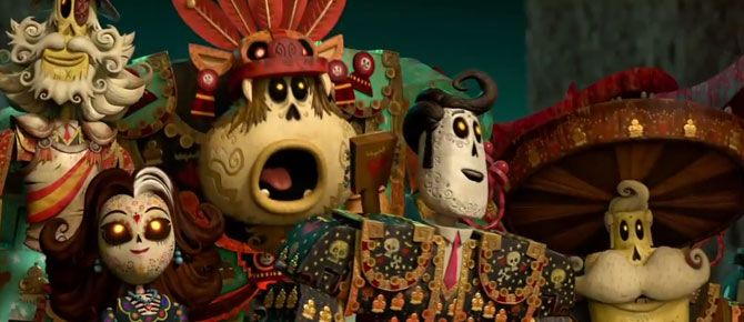 The Book of Life: trailer oficial 2!