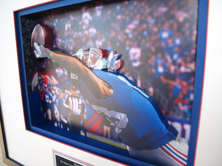 Odell Beckham Jnr. in 3D, That Catch, New York Giants, NFL, by CiracoFramers on…