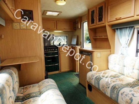 Lunar LX2000 420, 2 berth Berth, (2000) Used Touring Caravans for sale