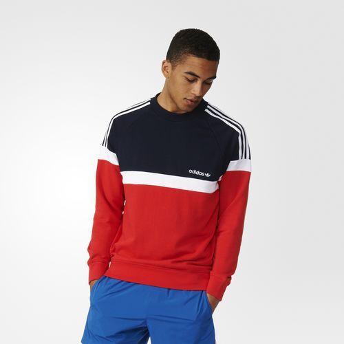 Itasca Crew Sweatshirt - Red