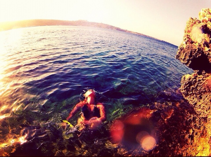 Day of snorkelling with the GoPro.