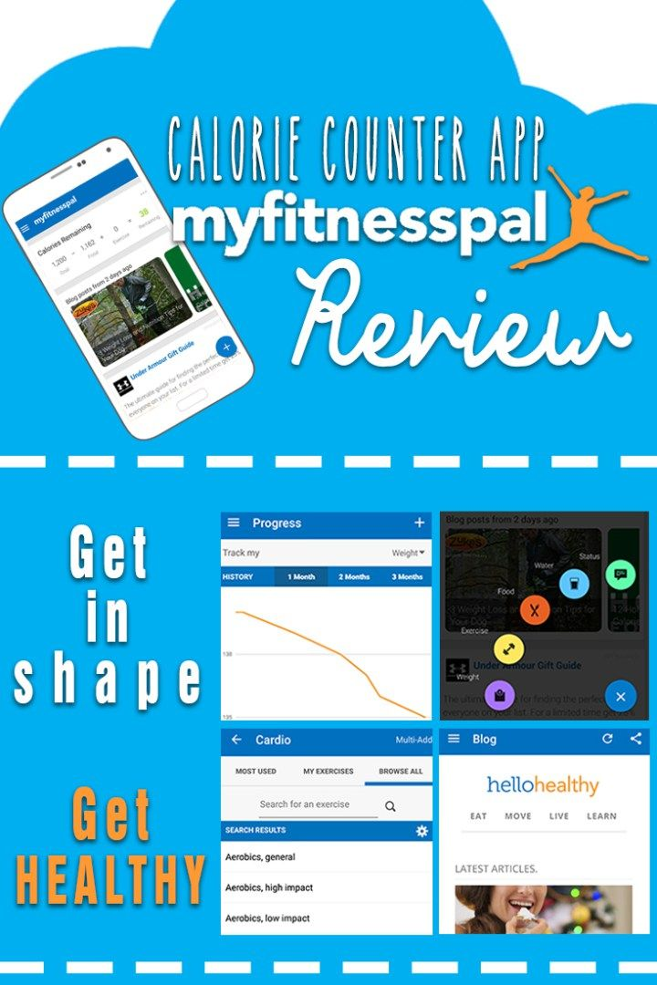 If you are looking to lose some weight and need a little bit of help, this calorie counter app might give you a hand. It's called MyFitnessPal, and it is designed to help you reach your weight goals. Check it out!