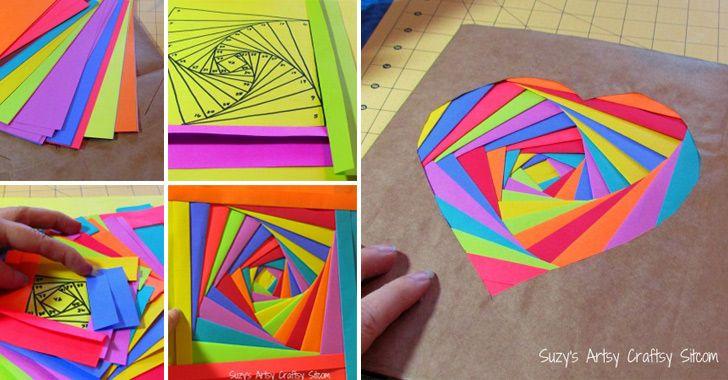 How to Make Rainbow Book Cover - DIY & Crafts - Handimania
