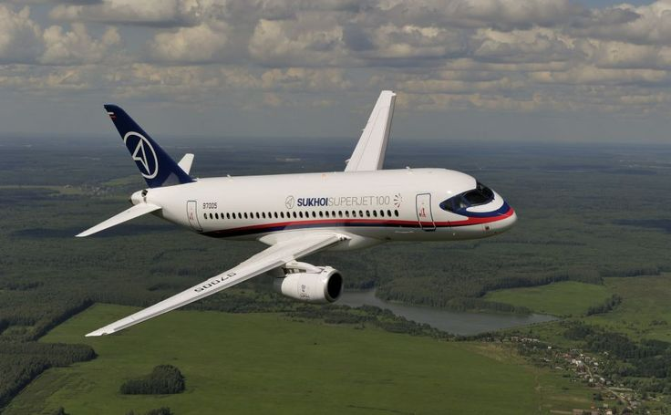 Sukhoi Superjet 100 HD Wallpaper
