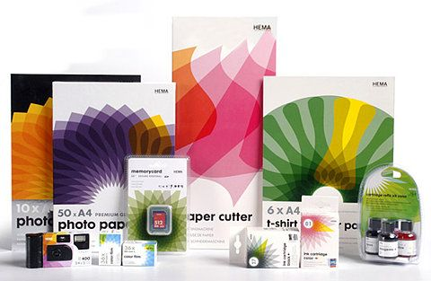 Colorful Hema photographic products #packaging PD