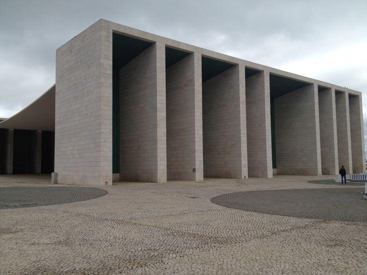 Alvaro Siza, padiglione del Portogallo Expo '98, Lisbona