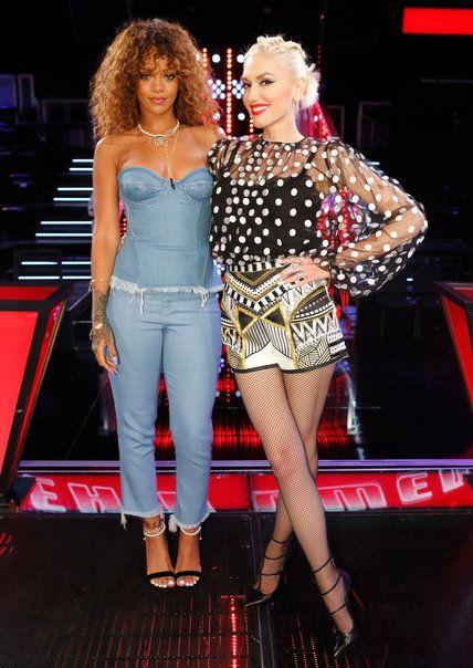 Gwen Stefani What >> Gwen Stefani's Best Fashion Moments from Season 9 of The Voice