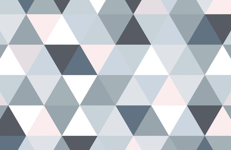 Geometric Triangle Pattern Wallpaper Murals Wallpaper In
