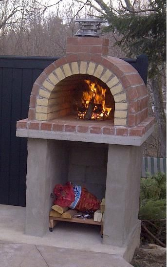 The Tildsley oven is a great example of an oven built exactly as described in the instructions. Great Job Guys! BrickWoodOvens.com