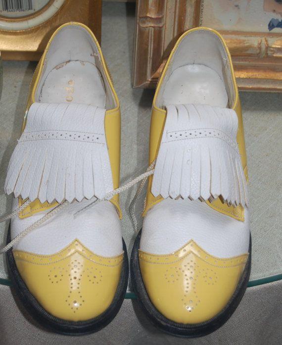 Vintage Ladies Womens Golf Shoes