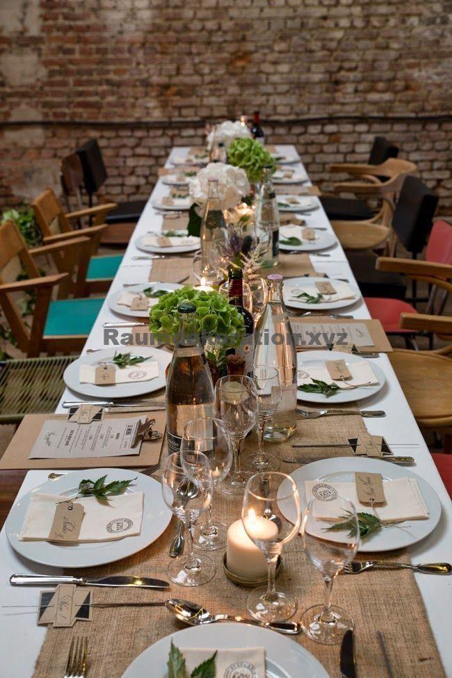 Tischdekoration Hochzeit – EHE INSGESAMT