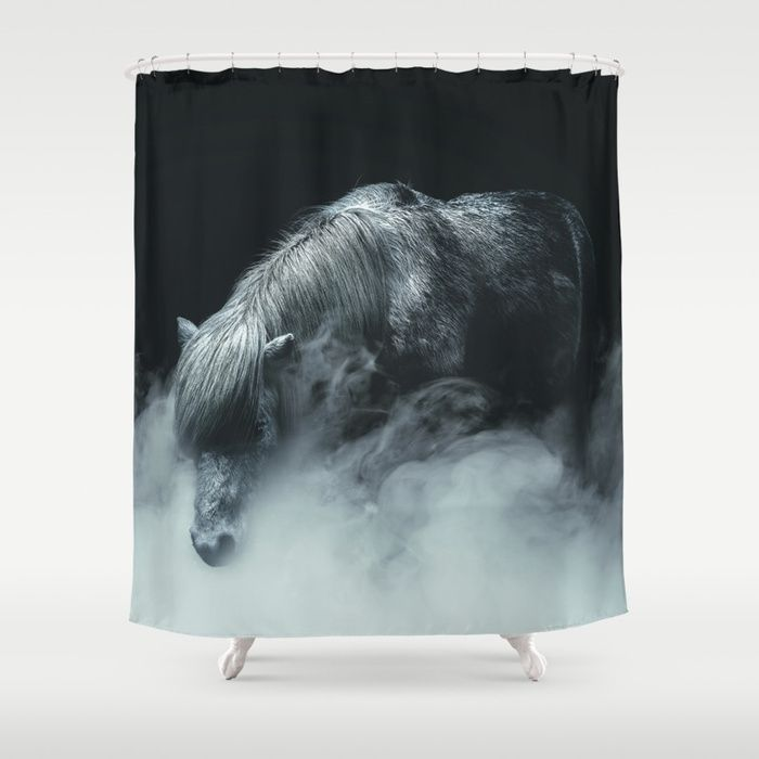 Things change Shower Curtain by HappyMelvin. #horse #photography #fineart #homedecor #showercurtain