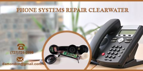 Today's business phone system not only connects you with customers, but with the right applications and features, they also help you improve your productivity and profitability. With phone systems repair Clearwater, you can ensure that your phone systems work perfectly.