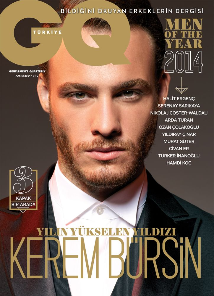 Kerem Bursin Men of the year GQ Turkiye