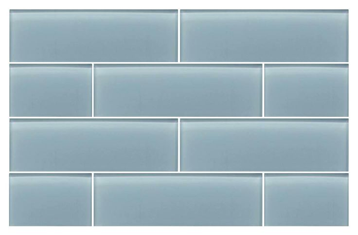 A gentle light blue with a slightly gray undertone. An easy to work with color that's perfect for a shower or tub surrounds. Combine this great tile with another one of our subway tiles or mosaics for