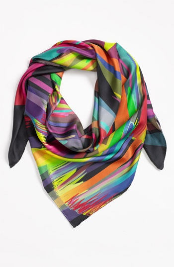 Yarnz 'Acid Fire' Scarf available at #Nordstrom