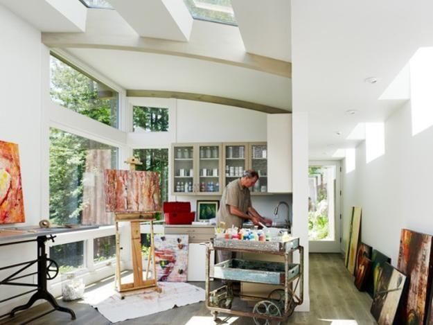 22 home art studio ideas interior design reflecting personality and artworks artistic home office track