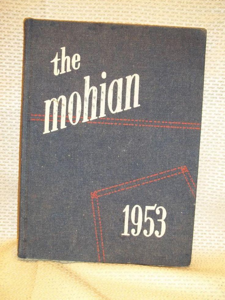 "Mobile Alabama 1953 Murphy High School Yearbook ""Mohian"""
