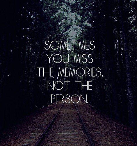 Manchmal muß man sich von anderen Menschen trennen, um bei sich selbst bleiben zu können.