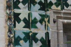 Stare, historyczne płytki azulejo