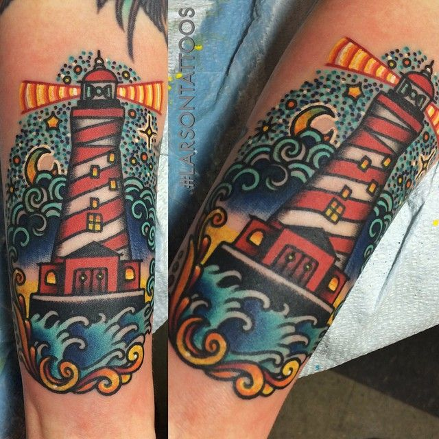 Lighthouse American Traditional Tattoo: 33 Best Favorite Tattoos Images On Pinterest
