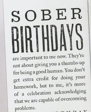 How do you like to celebrate your sober birthday? #Sobriety #RecoveryisPossible…