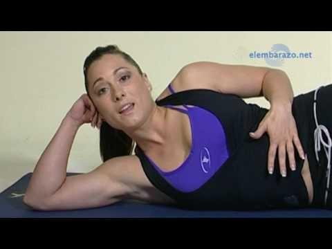 Ejercicio para mejorar la respiración durante el #embarazo